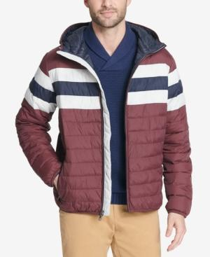 3b88a1284ce6 Tommy Hilfiger Men's Big & Tall Colorblocked Hooded Ski Coat, Created For  Macy's ...