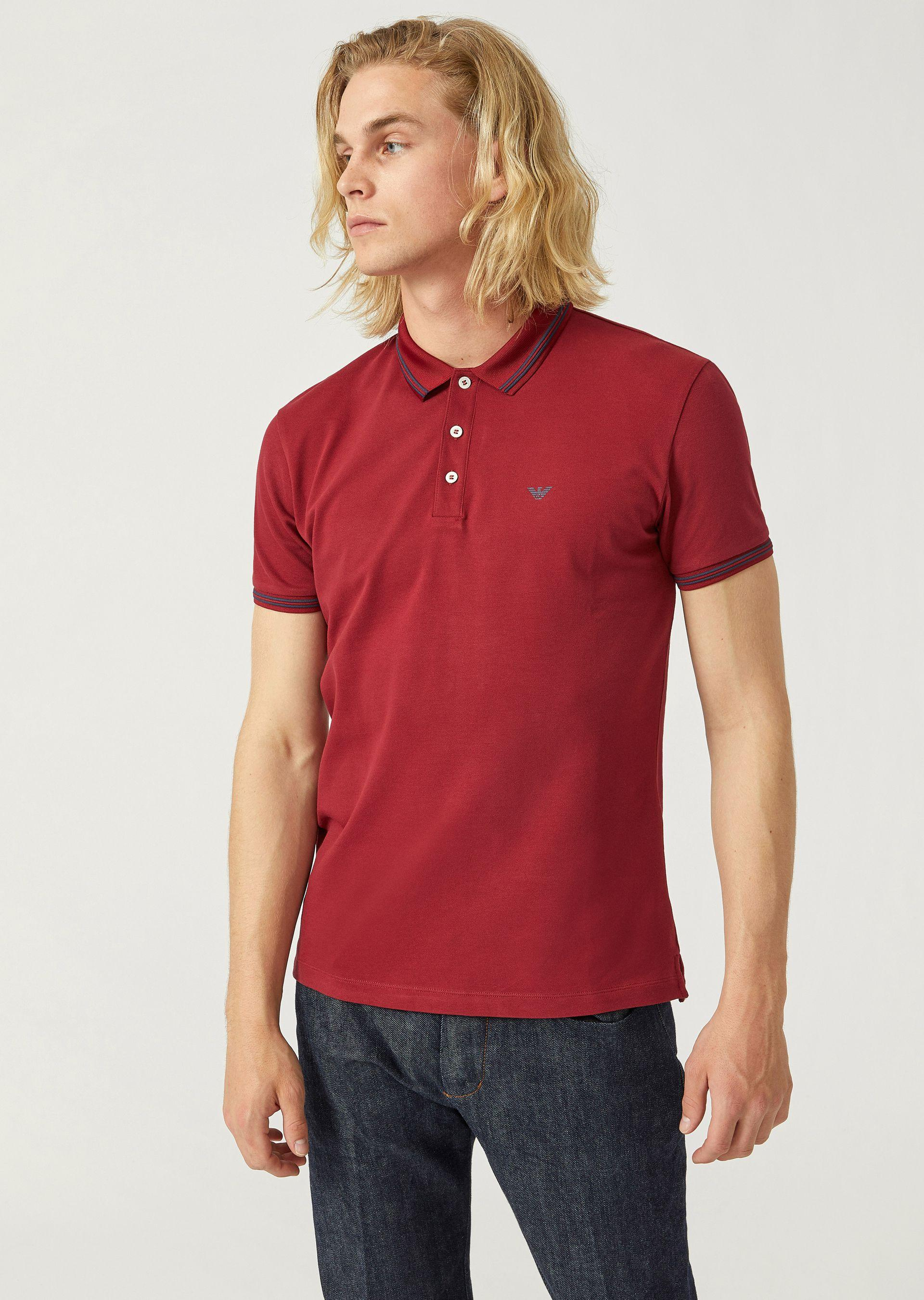 nueva estilos 5712d 5d7c5 Polo Shirts - Item 12227213 in Bordeaux