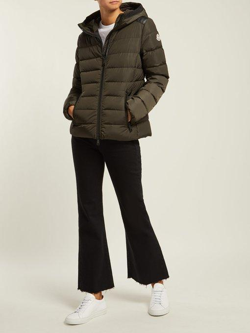 fa2330e4b Tetras Channel-Quilted Puffer Jacket in Green