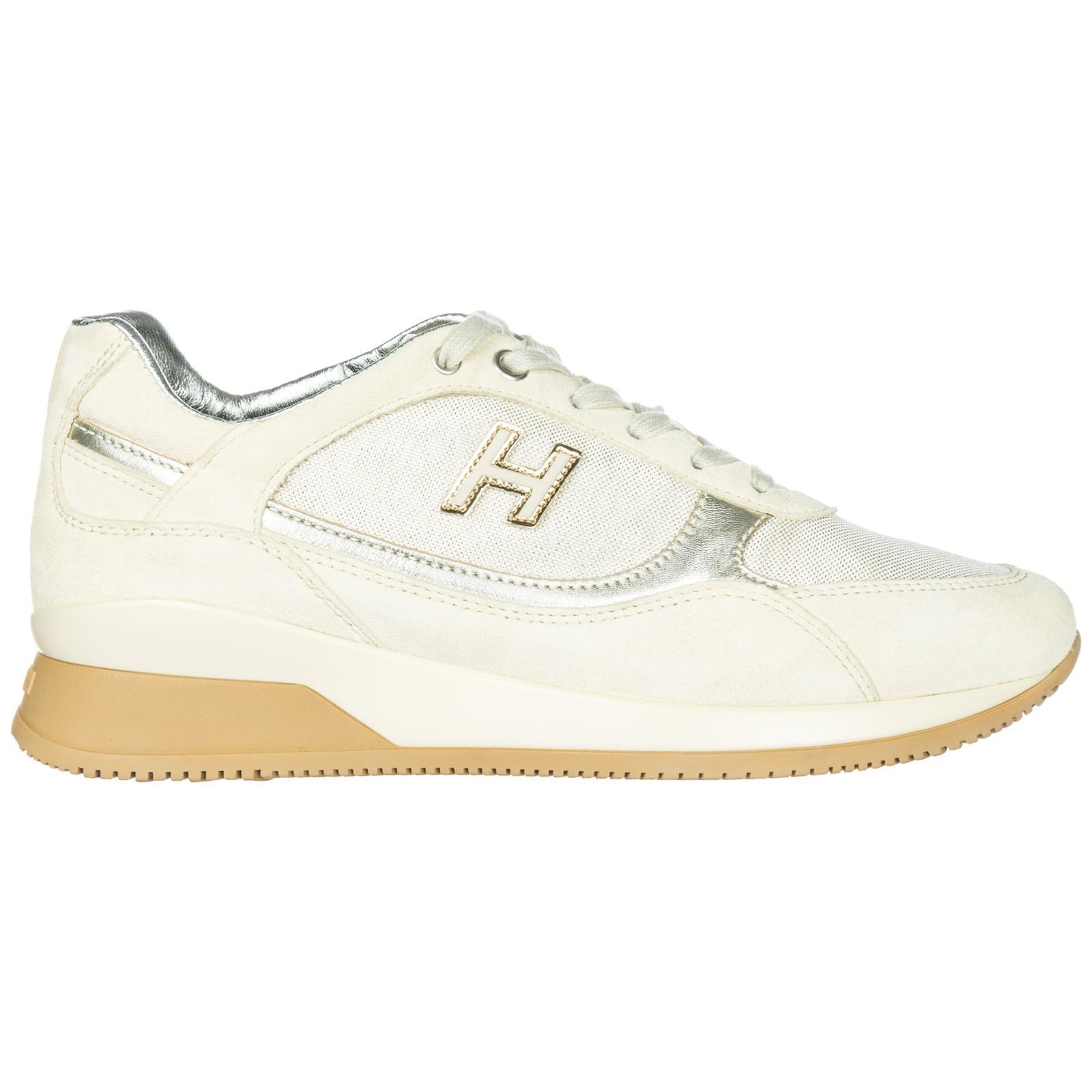 Hogan Damenschuhe Turnschuhe Damen Wildleder Schuhe Sneakers ...