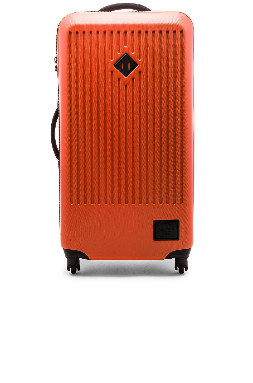37f138d371 Herschel Supply Co. Trade Large Suitcase In Vermillion Orange