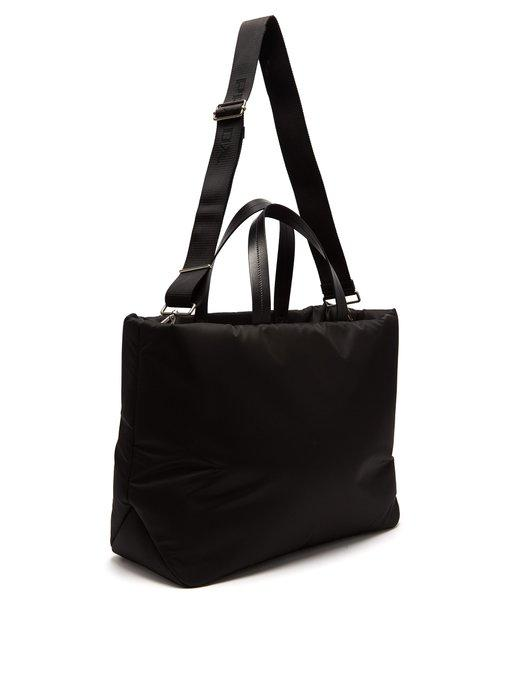 5e07c4a844809 Prada Medium Double-Handle Nylon Tote Bag