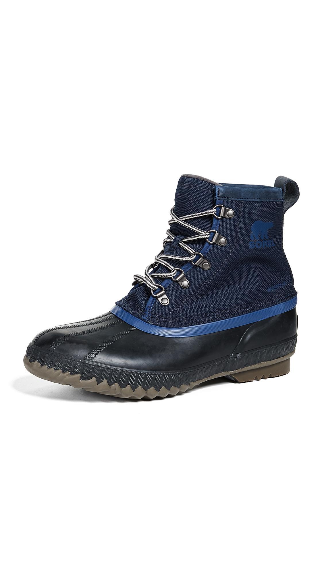 3c540e9299e Men's Cheyanne Ii Short Nylon Lace-Up Duck Boots in Collegiate Navy
