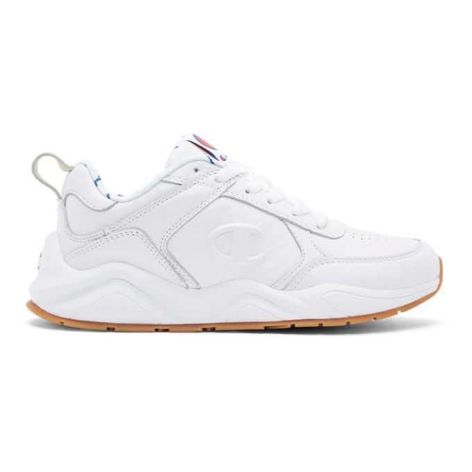 85d0de4cb85 Champion Reverse Weave White 93Eighteen Sneakers