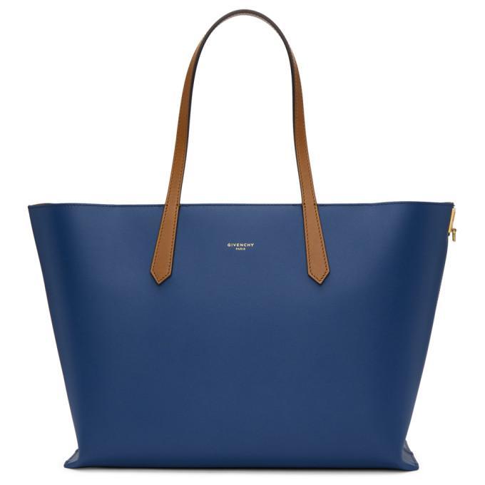 04e82c241 Givenchy Blue Gv Shopper Tote In 400 Blue | ModeSens