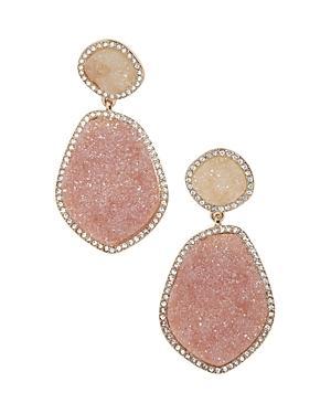 eee2b13aa Baublebar Vina Druzy Drop Earrings In Pink | ModeSens