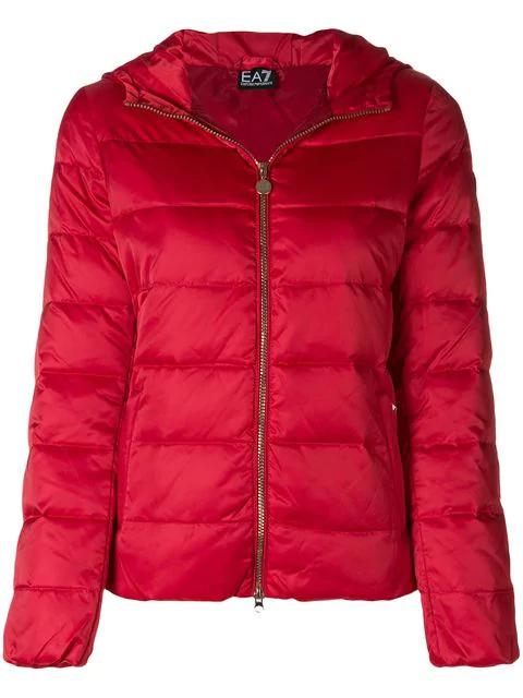 cc7e19c3 Ea7 Emporio Armani Padded Jacket - Red