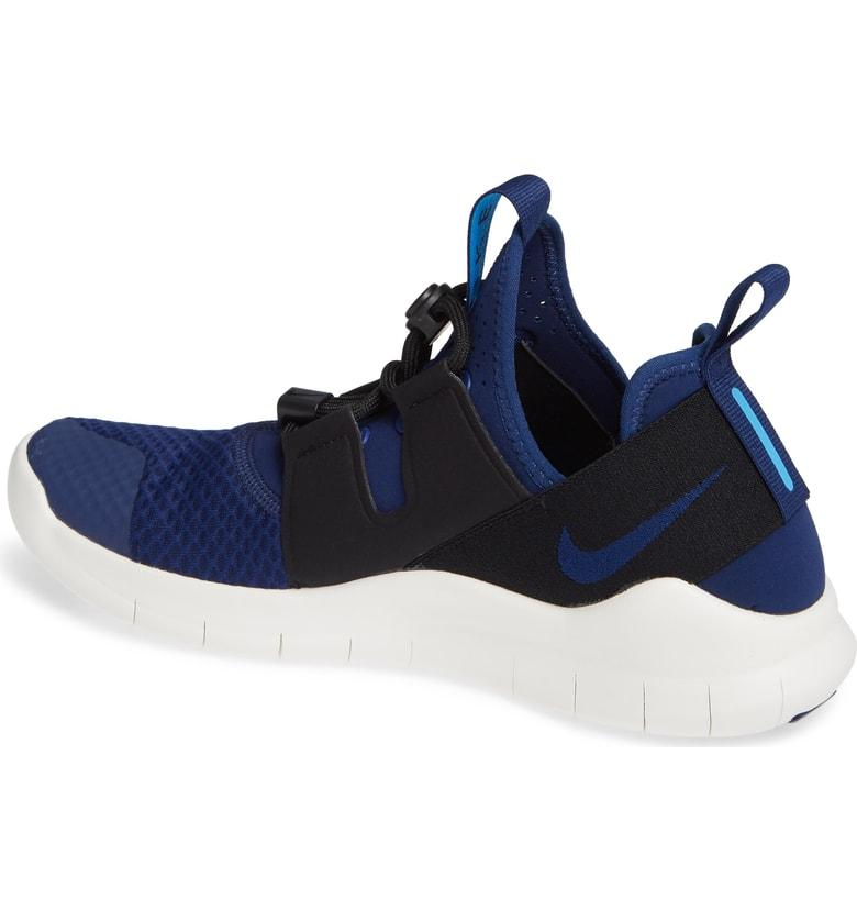 799b9ab3c327b Nike Men s Free Rn Commuter 2018 Running Sneakers From Finish Line In Blue  Void Blue