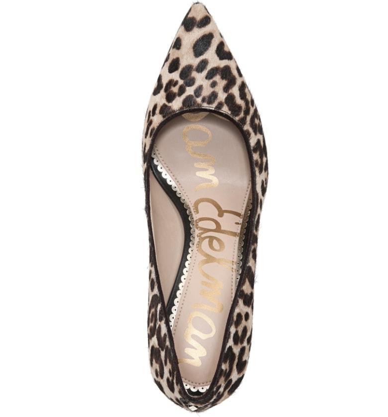c6175173e5c0 Sam Edelman Margie Genuine Calf Hair Pump In Leopard Calf Hair ...