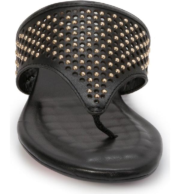 80d54741d9cb Foot Petals Evie Sandal In Black Leather