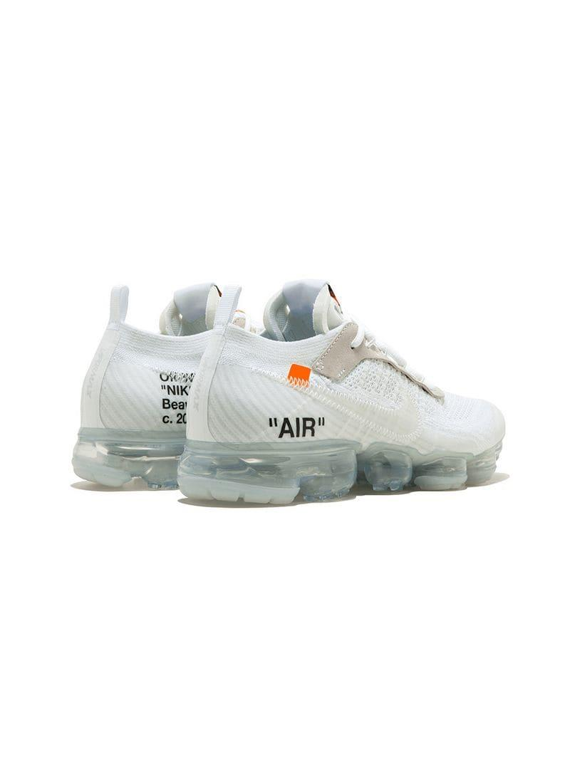 edd303da060 Nike X Off-White The 10   Air Vapormax Flyknit Sneakers