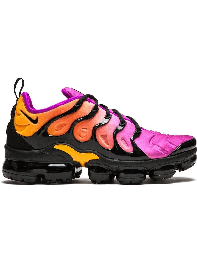 19d6a91b44f Nike Air Vapormax Plus Sneakers - Black