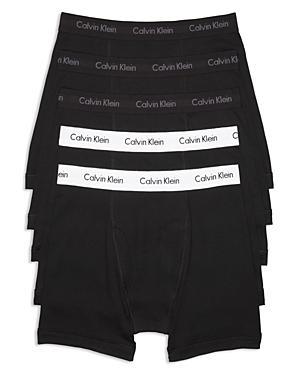 e9b4b39adafb Calvin Klein Men's 5-Pack. Cotton Classic Boxer Briefs In All Black/Black