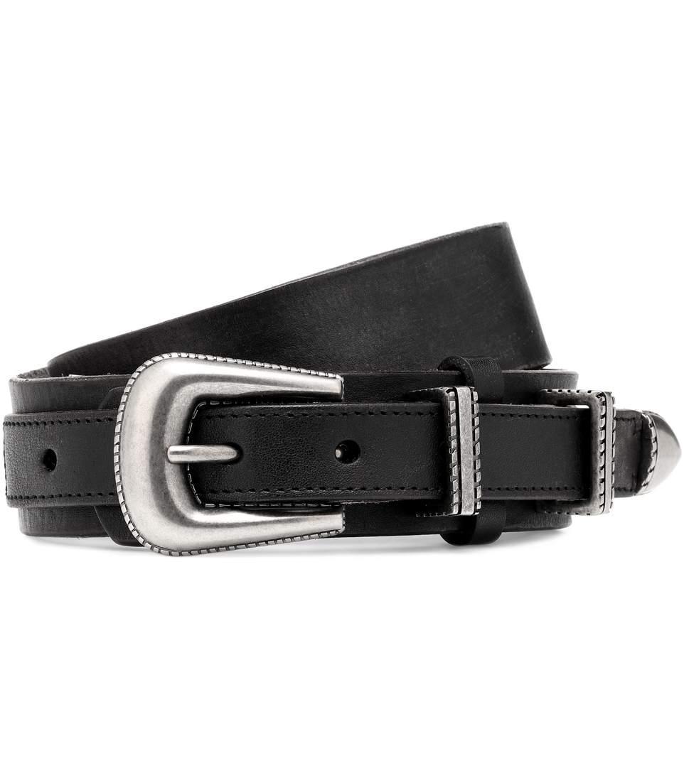 2cbdc9c734 Leather Belt in Black