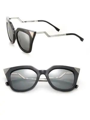 fed662b4678 FENDI. Mirrored Geometric Sunglasses