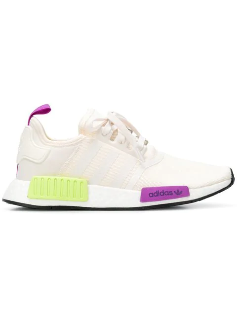 the best attitude b4b66 ff4d1 Adidas Men's Nmd R1 Casual Sneakers From Finish Line in White