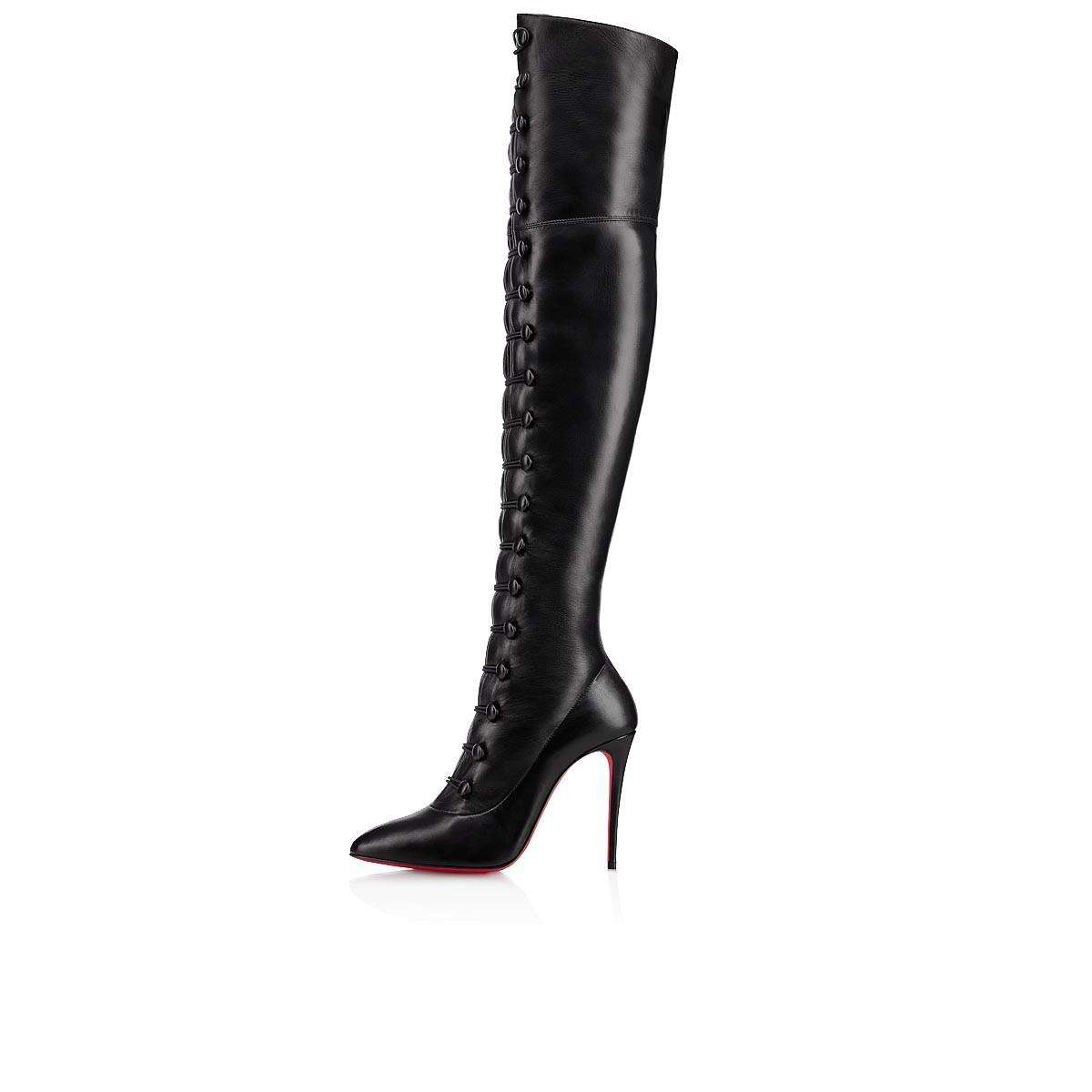 d616e6216f1 Christian Louboutin French Tutu Over The Knee Boot In Black