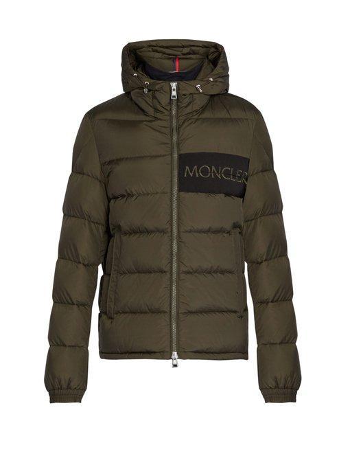 c727d5c23 Moncler - Aiton Quilted Down Jacket - Mens - Khaki