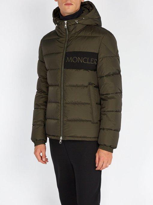 a1cf0d270 Moncler - Aiton Quilted Down Jacket - Mens - Khaki