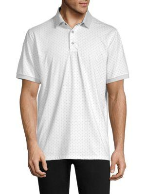 873a78e6 Greyson Icon Dotted Polo Shirt In Arctic | ModeSens