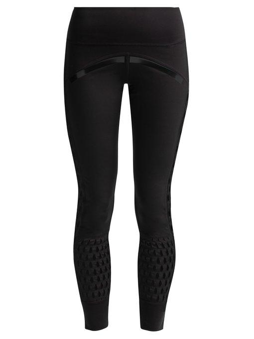067d4cfc29cd77 Adidas By Stella Mccartney Believe This High-Rise Mesh Training Tights In  Black