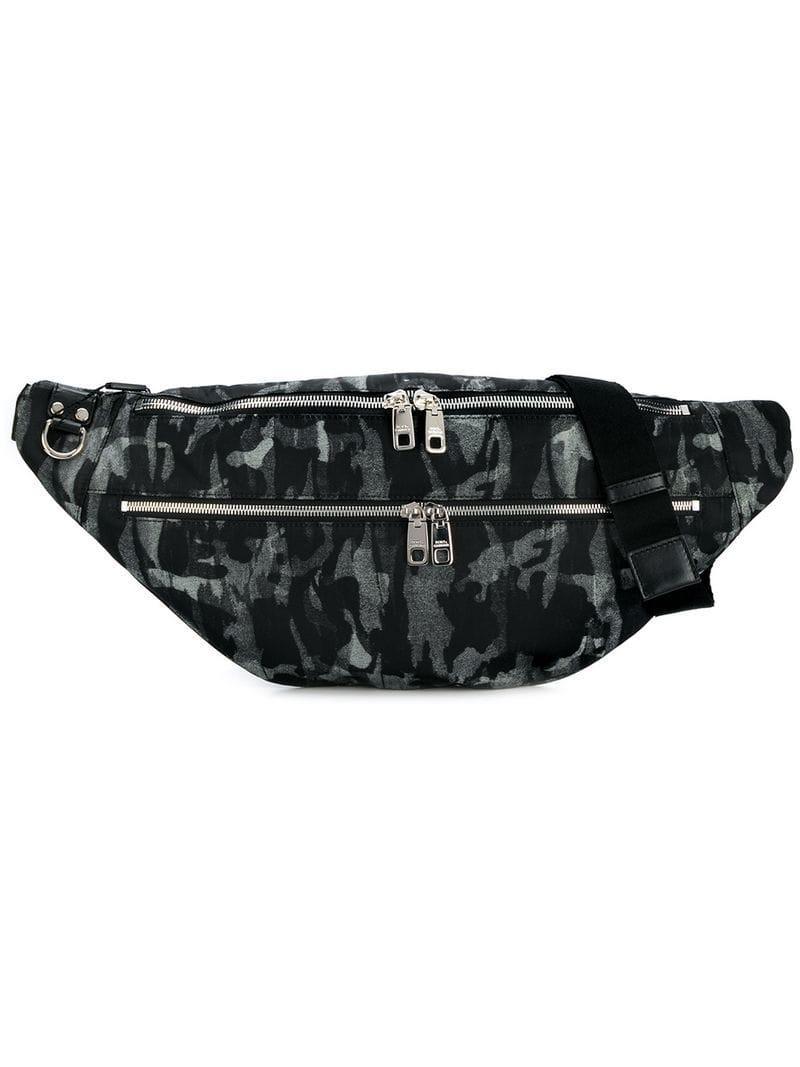 c05af619164a Dolce   Gabbana Dolce Gabbana Camouflage Belt Bag In Grey