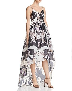 9fe4d6208d17 Bariano Printed Organza Gown - 100% Exclusive In Dark Floral