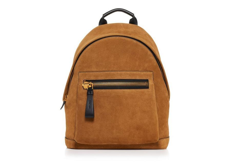 e916002c9812 Tom Ford Suede Medium Buckley Backpack In Stone | ModeSens