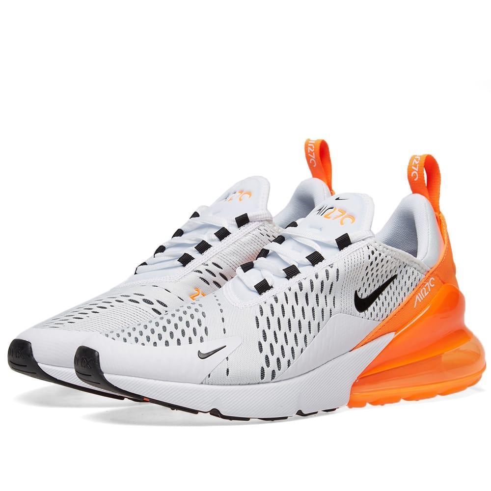 nike air max 270 orange fluo