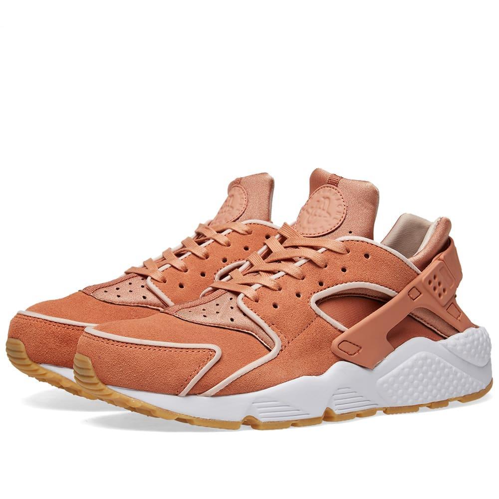 4640663888c4 Nike Air Huarache Run Premium W In Pink