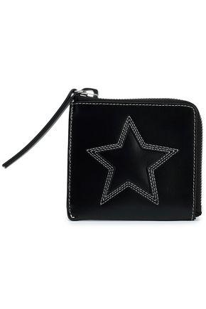 7cd5f0ece7 Mcq Alexander Mcqueen Woman Embroidered Leather Wallet Black