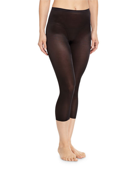 970390026 Spanx Light Control Skinny Britches Smoothing Capri Leggings 10059R In Very  Black