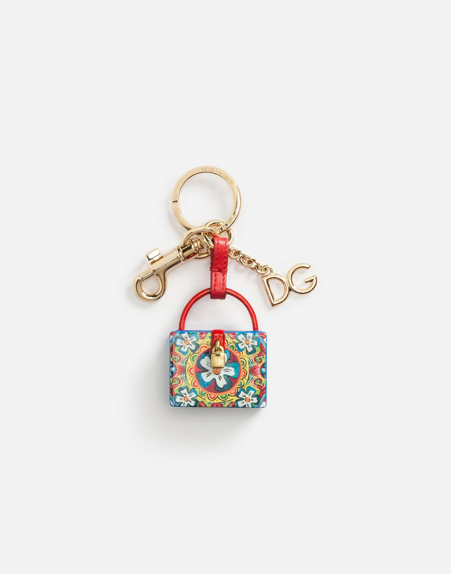 a95582d9d076 Dolce   Gabbana Dolce Box Charm Key Ring In Multicolor