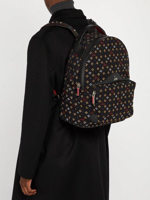 754f372eefe Backloubi Canvas-Jacquard Backpack - Black