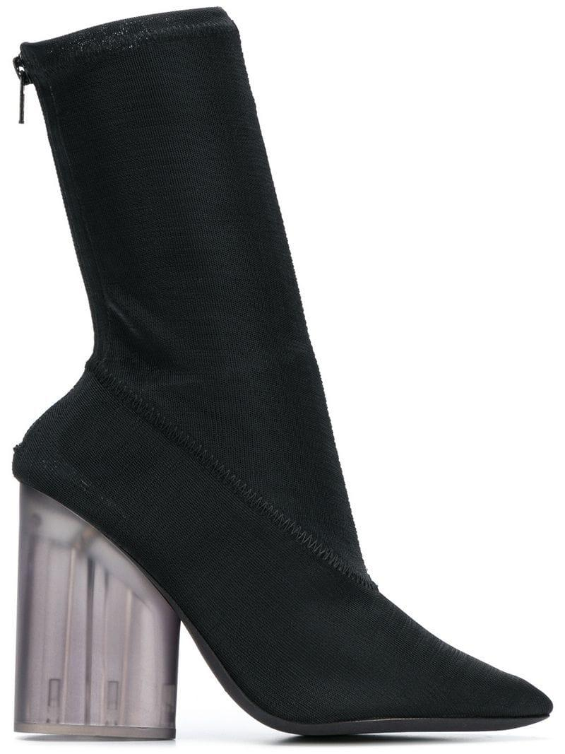 784cc31be8d5d Yeezy Mid-Calf Boots - Farfetch In Black