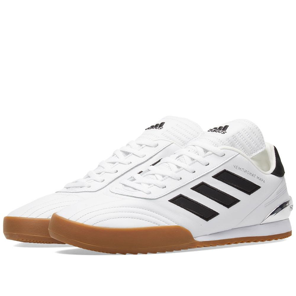 4532503dc52b Gosha Rubchinskiy White Adidas Originals Edition Gr Copa Wc Super Sneakers  In White 3
