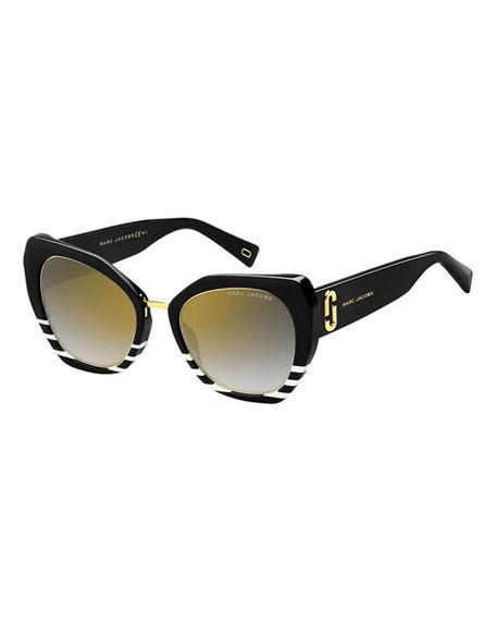 cf52daee3756 Marc Jacobs 53Mm Cat Eye Sunglasses - Black