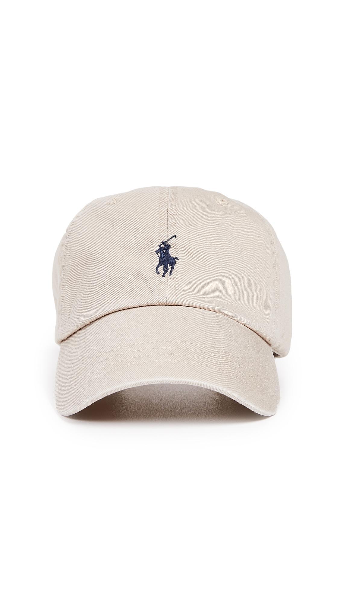 d5908442e Polo Ralph Lauren Classic Pony Cap In Nubuck/Navy | ModeSens