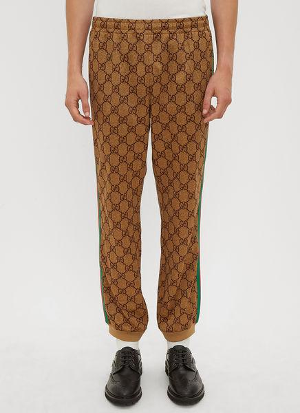 2be8ef8aef4 Gucci Webbing-Trimmed Logo-Print Tech-Jersey Sweatpants In 2035 ...