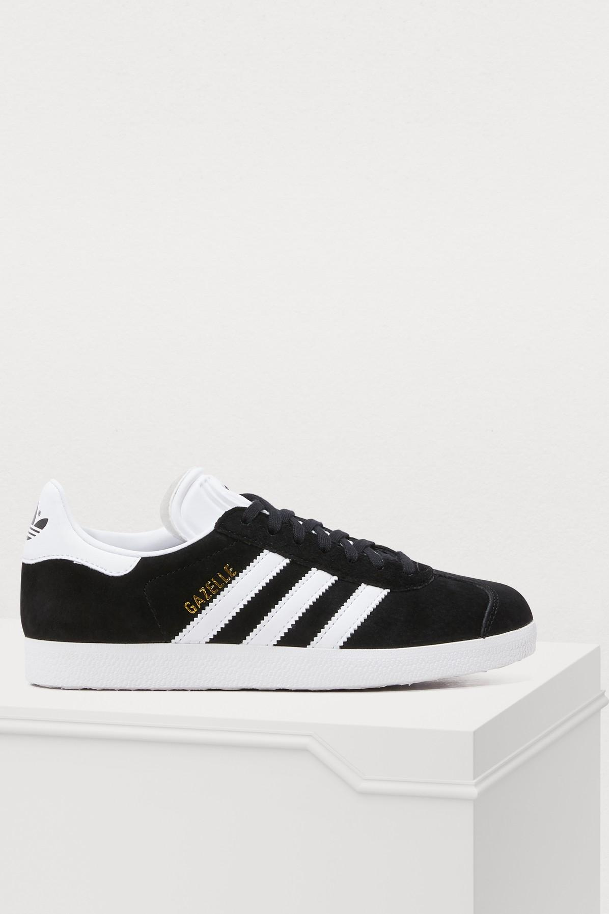 new product bd5b9 a1f8c Adidas Originals Adidas Men s Gazelle Sport Pack Casual Sneakers From  Finish Line In Black