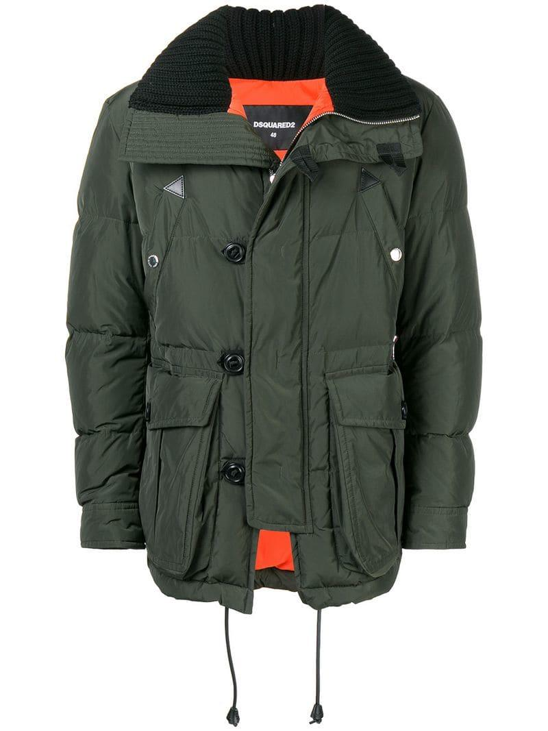 8cc898c43feb53 Dsquared2 Shell Puffer Jacket - Green In 695 | ModeSens
