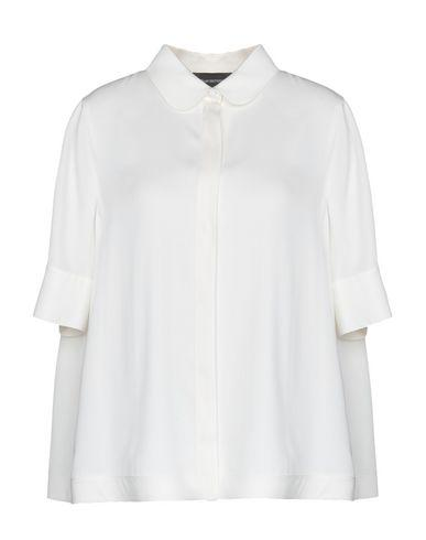 ad86d79d Emporio Armani Solid Color Shirts & Blouses In White | ModeSens