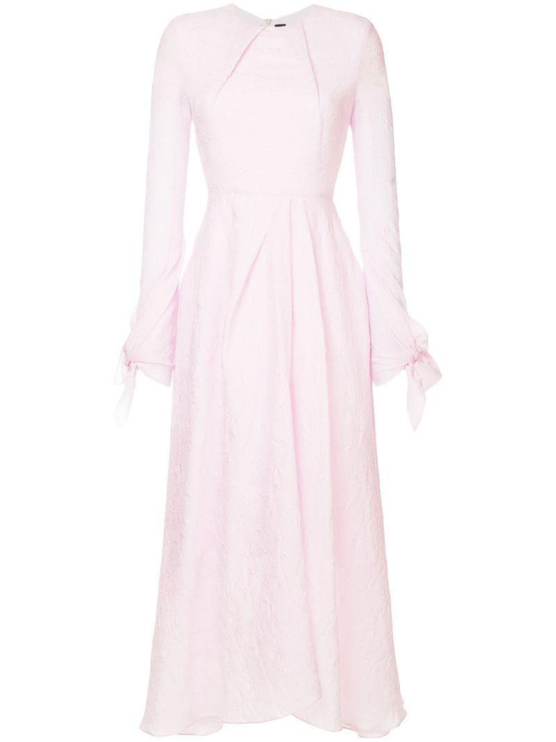 3176dfe66e2 Roland Mouret Fitted A-Line Dress - Pink