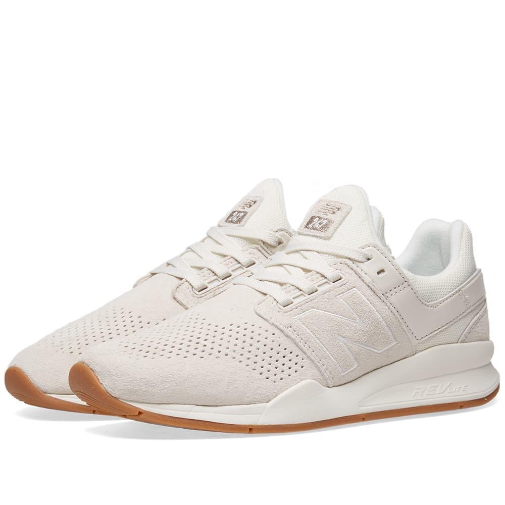 247 Sneaker In White