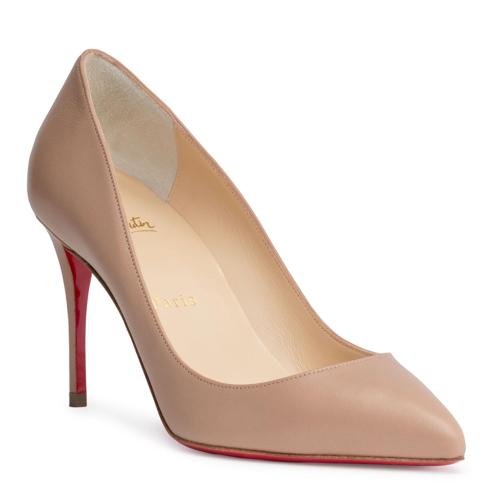 14812fc8b2c Christian Louboutin Pigalle Follies 85Mm Patent Red Sole Pump In Neutral