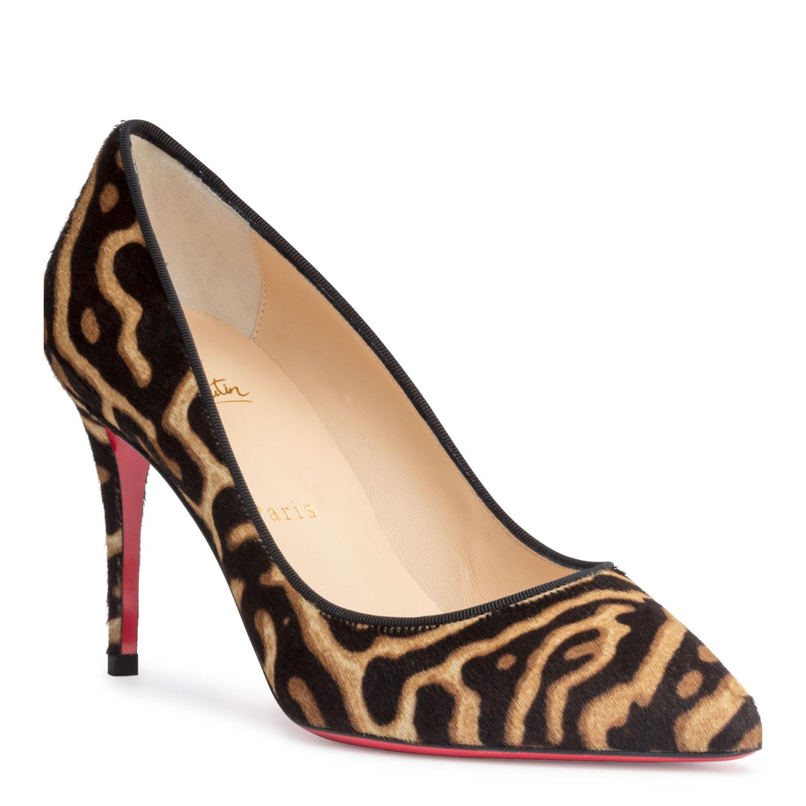on sale a676b 15e72 Pigalle Follies 85 Pony Miaou Pumps in Black