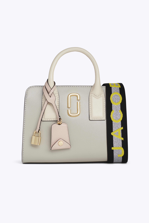 af3568ba00 Marc Jacobs Little Big Shot Saffiano Leather Tote Bag In Dust Multi ...