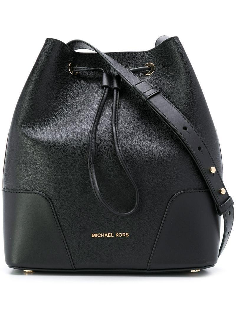 c209e0e0ba64d Michael Michael Kors Cary Bucket Bag - Black