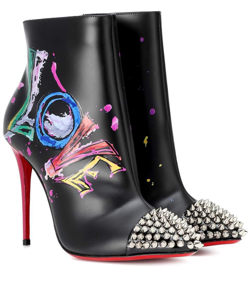 8664a7c93f4 In Love Leather Ankle Boots - Version Black