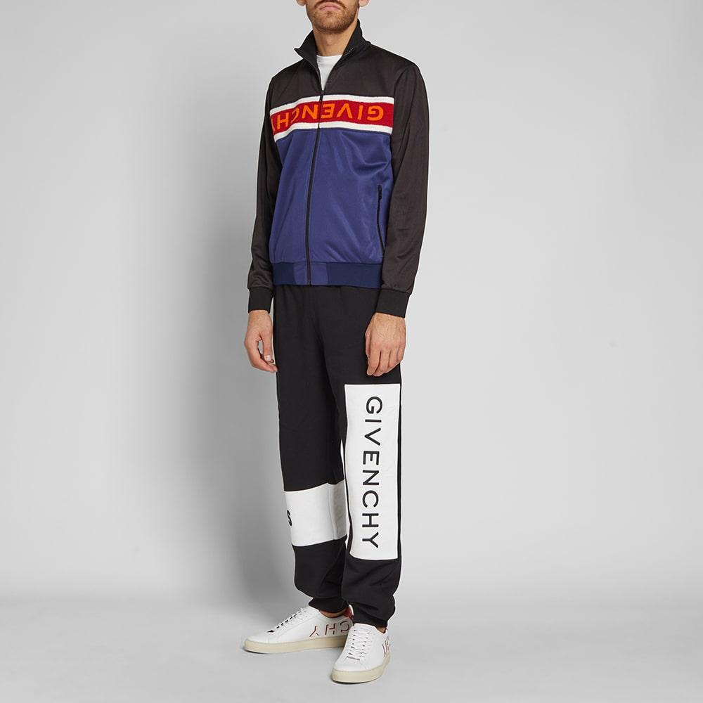 1c622ea5eb6d Givenchy Logo-Embroidered Tech-Jersey Track Jacket In Blue